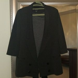 Nordstrom grey stretchy blazer